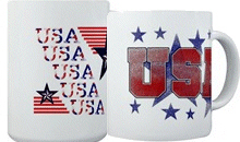 USA Patriotic Mugs