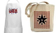 Patriotic BBQ Aprons & Tote Bags!