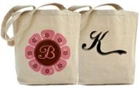 Monogram Tote Bags