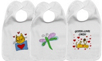 Animals and Bugs Baby Bibs!