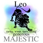 Zodiac Sign-Leo the Lion