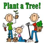 Plant a Tree Tshirts and Gifts
