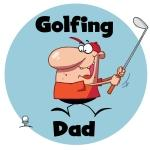 Golfing Dad Tshirts and Gifts