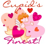 Cupid's Finest T-shirts and Gifts
