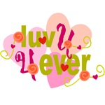 Luv U 4 Ever T-shirts and Gifts
