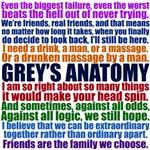 Grey's Anatomy Collage