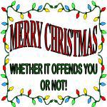 CHRISTMAS SARCASM