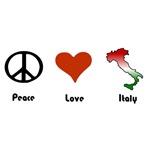 Peace, Love, Italy