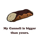 My Cannoli is Bigger Than Yours