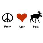 Peace Love Palin