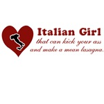Funny Italian Girl T-Shirts