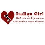 Funny Italian Girl T-Shirts