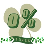 0% Irish T-Shirts