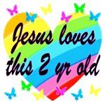 2 YR OLD LOVE HEART