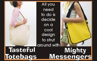 Akita Dog Tote Bags and Mighty Messenger Bags