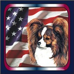 Papillon Patriotic USA Flag Products & Gifts