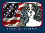 Cavalier King Charles Spaniel US Flag Gift Items