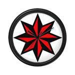 Punk Nautical Star Clocks and Mousepads