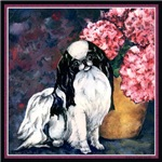 Japanese Chin & Hydrangeas Gifts & Products