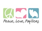 Peace, Love, Papillons