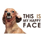 Happy Face - Dachshund
