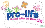 Pro-Life Flowers & Butterfly
