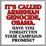 It's called Armenian genocide, Obama.