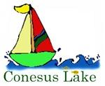 Conesus Lake sailboat