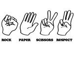Rock Paper Scissors Respect