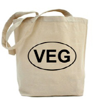 Vegetarian Canvas Bags