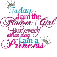 Today I am a Flower Girl