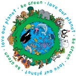Be Green Love our planet