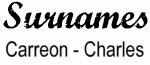 Vintage Surname - Carreon - Charles
