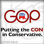 The Con in Conservative