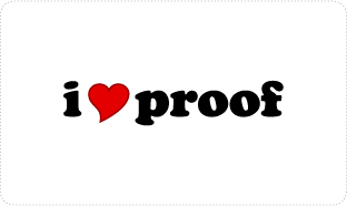 I Love Proof T-shirts