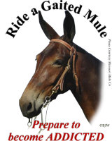 Ride a Gaited Mule
