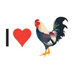 I Love Roosters!
