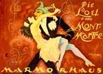 Carnival at Marmorhaus, Vintage Poster