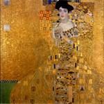 Adele Bloch Bauer, Klimt, Vintage Painting