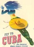 Cuba Beach Lady and Hat