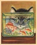 Cat, Fish Bowl