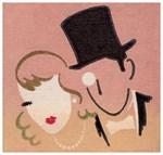 Art Deco Glamour Couple