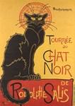 Le Chat Noir, Cat, Vintage Poster