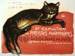 Cat, Vintage Poster