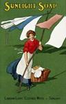 Sunlight Soap, Vintage Poster