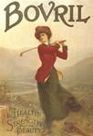 Bovril, Golf, Vintage Poster