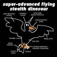 Super-Advanced Stealth Dinosaur