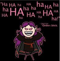 V: Evil Laugh