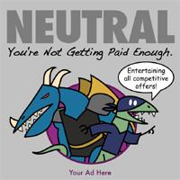 NEUTRAL: You're Not Getting Paid Enough