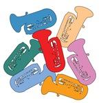 Colorful Tubas